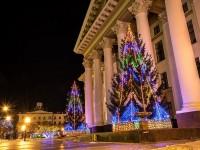 Новогодняя сказка Тюмени с Дедом Морозом